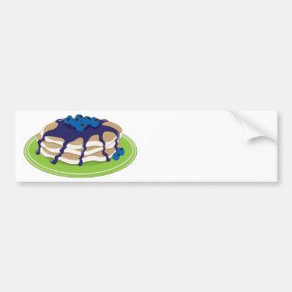 Pancakes Blueberry Bumper Sticker