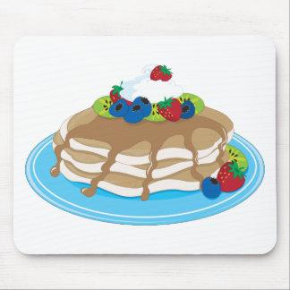 Pancakes Fruit Mouse Pad