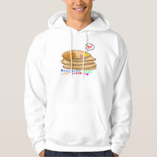 pancakes make me happy hooded pullover