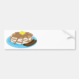 Pancakes Sausage Bumper Sticker