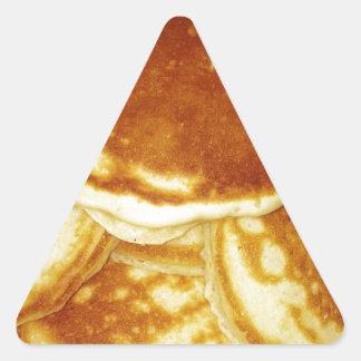 Pancakes Triangle Sticker