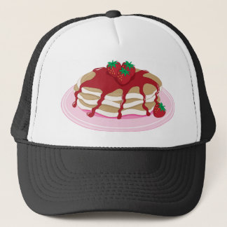 Pancakes Strawberry Trucker Hat