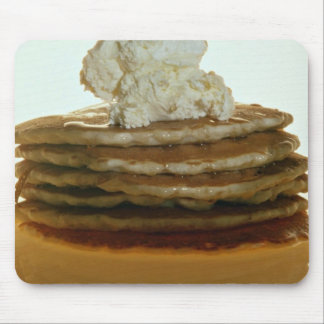 Pancakes with whipped butter mouse pad