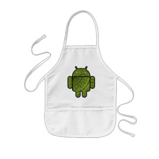 Pancho Doodle Character for the Android™ robot Apron