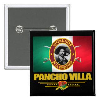 Pancho Villa 1 Buttons