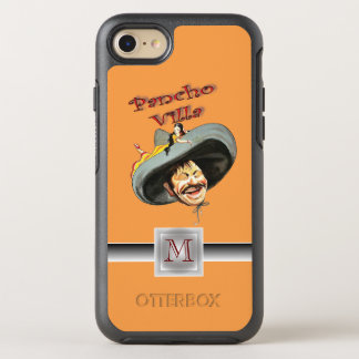 Pancho Villa Mexican General Revolution Monogram OtterBox Symmetry iPhone 8/7 Case