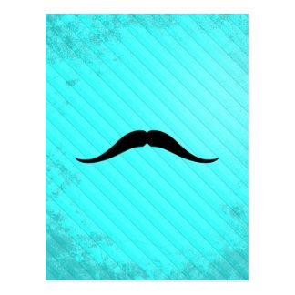 Pancho Villa Mustache Postcard