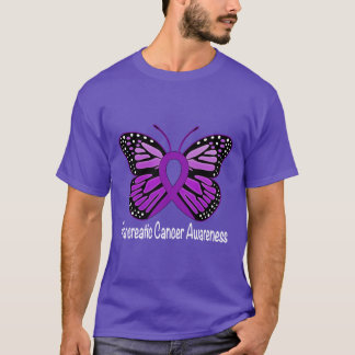 Pancreatic Awareness Butterfly of Hope T-Shirt