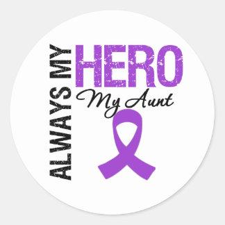 Pancreatic Cancer Always My Hero My Aunt Sticker