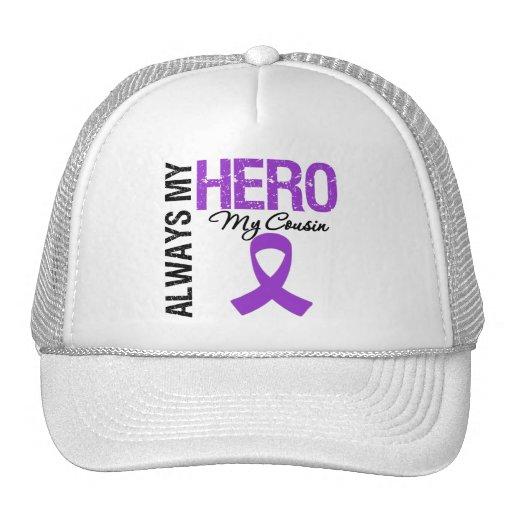 Pancreatic Cancer Always My Hero My Cousin Mesh Hat