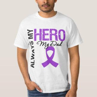 Pancreatic Cancer Always My Hero My Dad T-shirt
