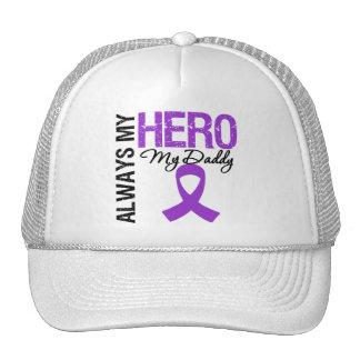 Pancreatic Cancer Always My Hero My Daddy Trucker Hat
