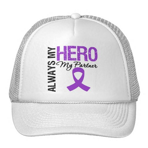 Pancreatic Cancer Always My Hero My Partner Hat