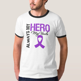 Pancreatic Cancer Always My Hero My Uncle T-Shirt