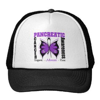 Pancreatic Cancer Awareness Butterfly Cap
