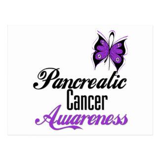 Pancreatic Cancer Awareness Butterfly Postcard