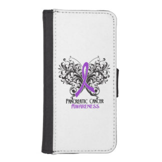 Pancreatic Cancer Awareness Butterfly Phone Wallet Cases