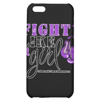 Pancreatic Cancer Awareness Fight Like a Girl Cover For iPhone 5C