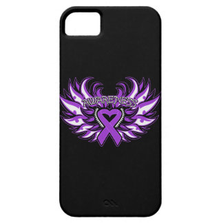 Pancreatic Cancer Awareness Heart Wings Barely There iPhone 5 Case