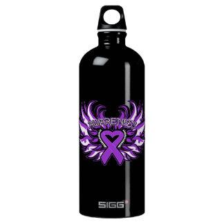 Pancreatic Cancer Awareness Heart Wings SIGG Traveller 1.0L Water Bottle