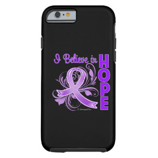 Pancreatic Cancer Awareness I Believe in Hope Tough iPhone 6 Case