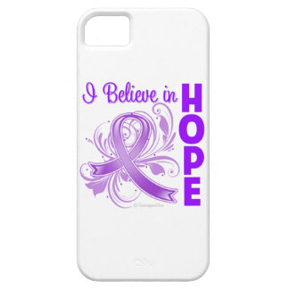 Pancreatic Cancer Awareness I Believe in Hope iPhone 5 Case