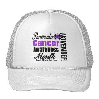 Pancreatic Cancer Awareness Month v2 Trucker Hat