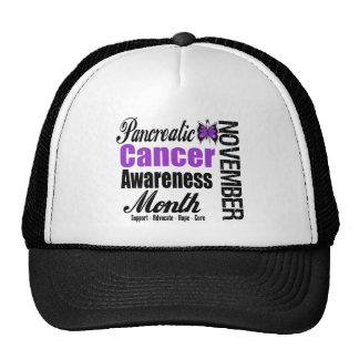 Pancreatic Cancer Awareness Month v2 Mesh Hat