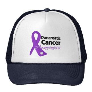 Pancreatic Cancer Awareness Ribbon Cap