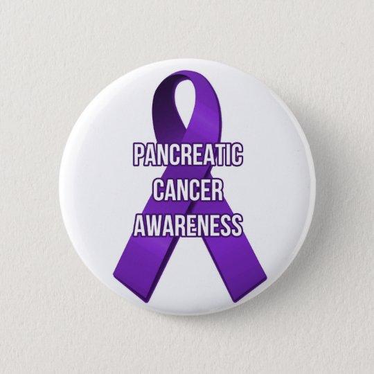 Pancreatic Cancer Awareness Ribbon Pin