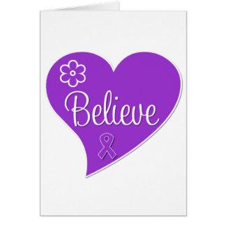Pancreatic Cancer Believe Heart Cards