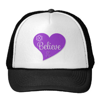 Pancreatic Cancer Believe Heart Hat