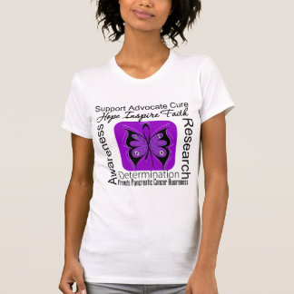 Pancreatic Cancer Butterfly Inspirations T Shirts