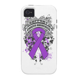Pancreatic Cancer - Cool Support Awareness Slogan Case-Mate iPhone 4 Cases