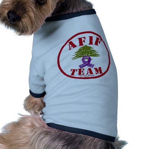 Pancreatic Cancer Doggie Tshirt