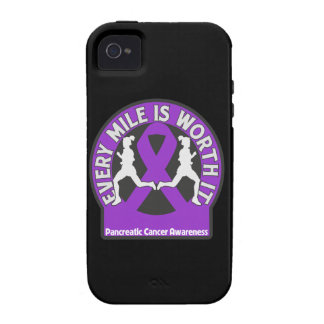 Pancreatic Cancer Every Mile Is Worth It iPhone 4/4S Cover