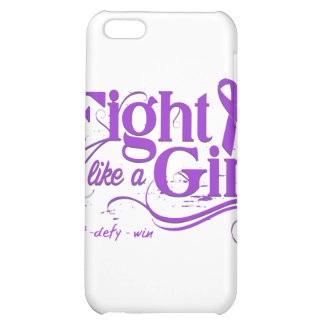 Pancreatic Cancer Fight Like A Girl Elegant iPhone 5C Cases