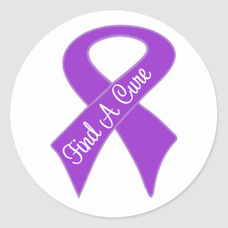 Pancreatic Cancer Find a Cure Stickers