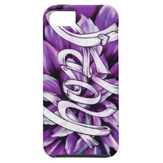 Pancreatic cancer floral hope products case for the iPhone 5