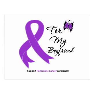 Pancreatic Cancer For My Boyfriend Postcard