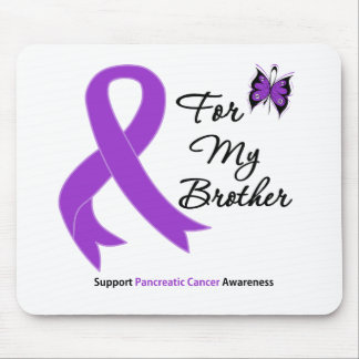 Pancreatic Cancer For My Brother Mouse Mat