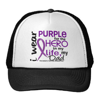 Pancreatic Cancer For My Hero My Dad 2 Trucker Hat