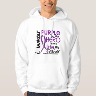 Pancreatic Cancer For My Hero My Father 2 Hoodie