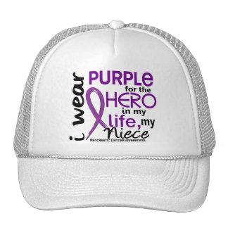 Pancreatic Cancer For My Hero My Niece 2 Mesh Hats