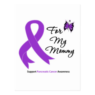 Pancreatic Cancer For My Mommy Postcard