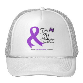 Pancreatic Cancer For My Sister-in-Law Hats