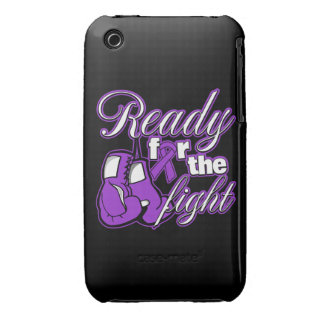 Pancreatic Cancer Gloves Ready For The Fight iPhone 3 Cover