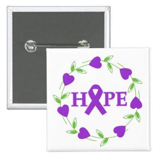 Pancreatic Cancer Hearts of Hope Pin