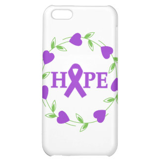 Pancreatic Cancer Hearts of Hope iPhone 5C Cover