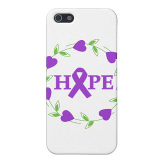Pancreatic Cancer Hearts of Hope Cover For iPhone 5